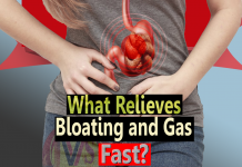 What relieves bloating and gas fast